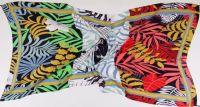 Feather Print Beach Sarong
