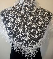 Floral Lace Scarf