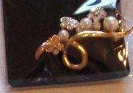 Gold Broach Pin