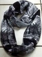 Grey Fleece Winter Snood