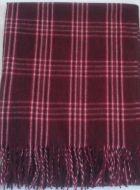 Maroon Blanket Scarf