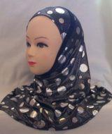 Printed Burqa with Polka Dots